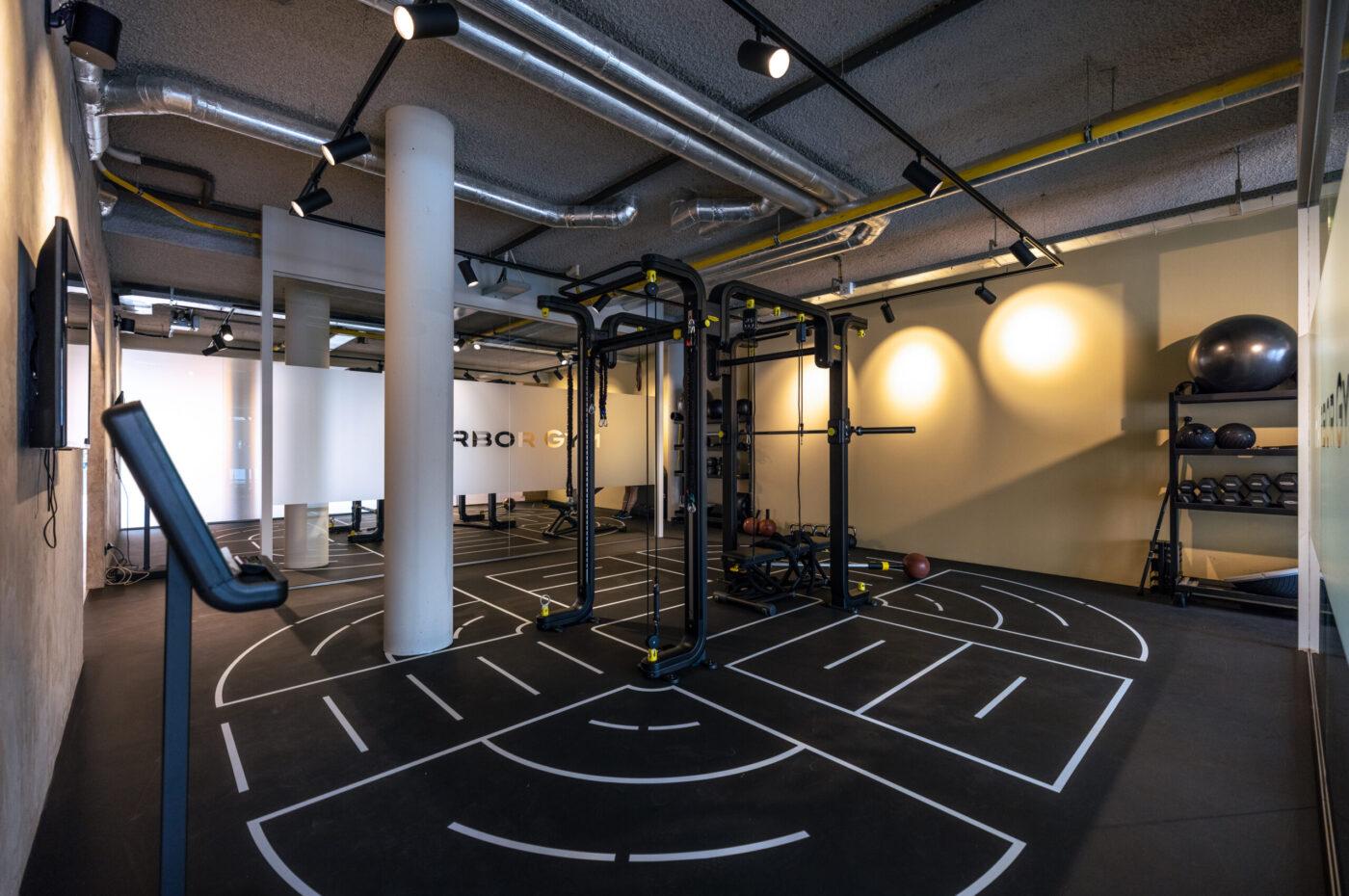 fitnessruimte bij Harbor Gym in nijmegen centrum
