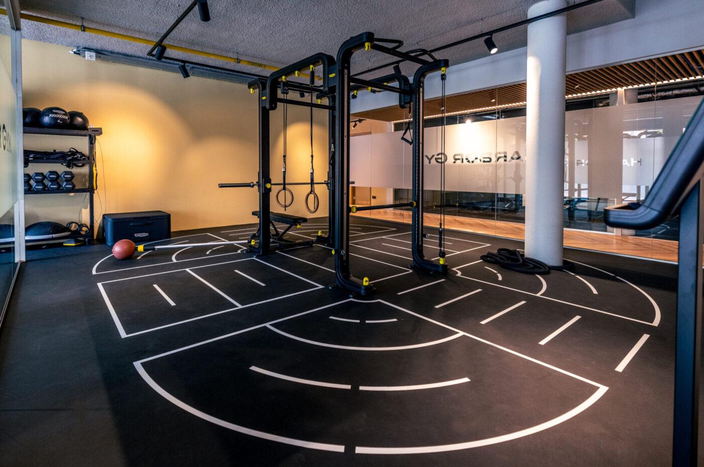 ruimte voor groepsles bij Harbor Gym Nijmegen